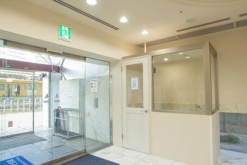 新狭山第一ホテル 喫煙ブース